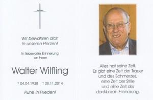 Walter Wilfling