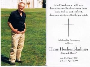Hans Hechenblaikner